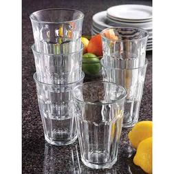 picardie 12 piece tempered glass set