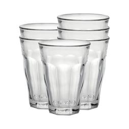 Duralex - Picardie Clear Tumbler 500 ml - 17 5-8 oz Set Of 6