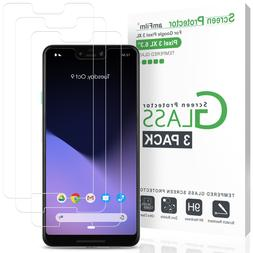 Pixel 3 XL Screen Protector Glass , amFilm Google Pixel 3 XL