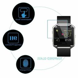 Premium Real Tempered Glass Film Screen Protector For Fitbit