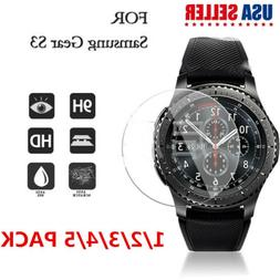 Premium Tempered Glass Screen Protector For Smart Watch Sams