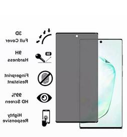 Privacy Screen protector Tempered Glass For Samsung Galaxy N