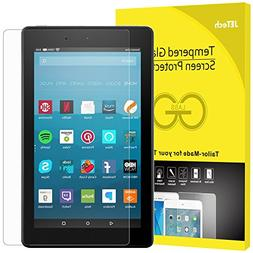 JETech Screen Protector for Amazon Fire HD 8 , Tempered Glas
