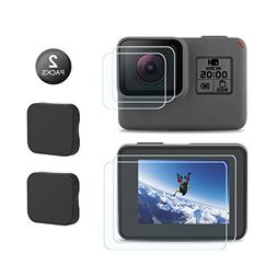 Kupton Screen Protector for GoPro Hero 7 / 6/5/ 2018, Upgrad