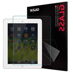 Screen Protector for iPad 2 / iPad 3 / iPad 4, GARUNK Temper