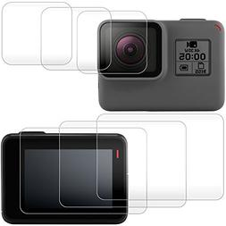 Screen Protector for GoPro Hero /6/5 Screen and Lens, AFUNTA
