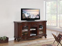 ACME Remington Brown Cherry TV Stand