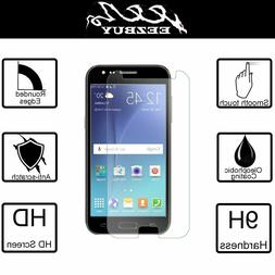 Real Tempered Clear Glass Screen Protector For Samsung Galax