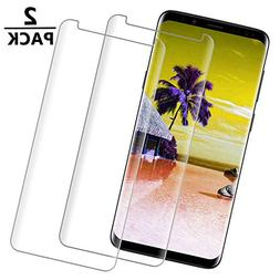 S9 Plus Screen Protector, Tempered Glass Screen Protector C