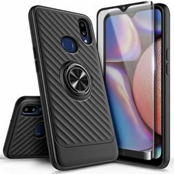 For Samsung Galaxy A10s / A20s Hybrid Case Ring Stand Cover