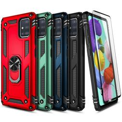 For Samsung Galaxy A51 /5G Case Magnetic Ring Stand Phone Co