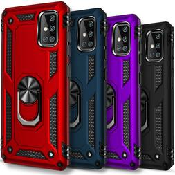 For Samsung Galaxy S20 / Plus /Ultra Case, Ring Stand + Temp