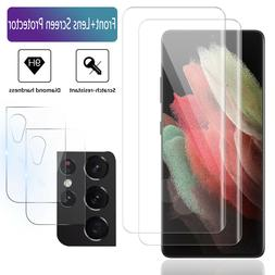 For Samsung Galaxy S21/Plus/Ultra 5G Camera Lens/Tempered Gl