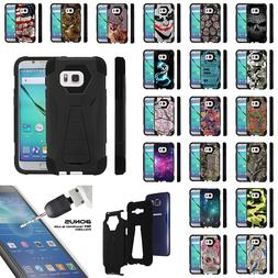 For Samsung Galaxy S7 G930 Dual Layer Protective Stand Case