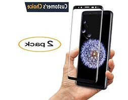 Samsung Galaxy S9 Plus Tempered Glass Screen Protector,-9H H