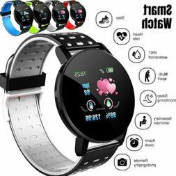 Smart Watch Blood Pressure Heart Rate Monitor Bracelet Wrist