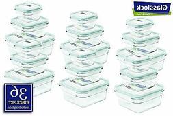 snaplock lid tempered glasslock storage