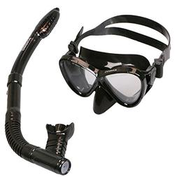 Snorkel Set , ANGGO Adults Recreation Anti-fog Film Diving M