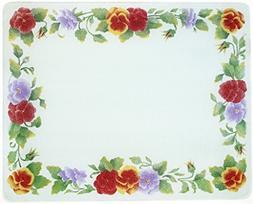 20 X 16 Corelle Summer Blush Surface Saver Tempered Glass Cu