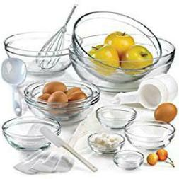 Anchor Hocking Tempered Glass Assorted Dishwasher Safe Mixin