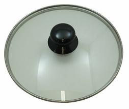 tempered glass cover and knob assembly