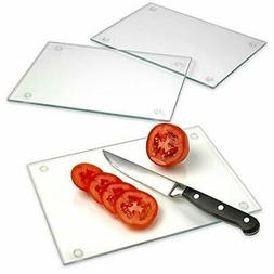 tempered glass cutting board long