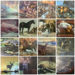 Tempered Glass Cutting Boards Horses Fish Dogs Eagles Motorc