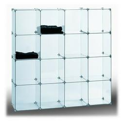 Econoco Tempered Glass for Cubbies- 10inx10in Model# CB110