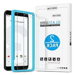 OMOTON Tempered Glass Screen Protector Compatible with Googl