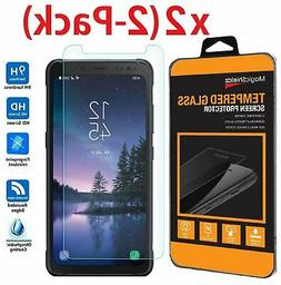 2 Pack Premium Tempered Glass Screen Protector for Samsung G