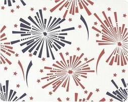 Vance 15 X 12 inch July 4th Fireworks Surface Saver Tempered