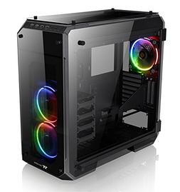Thermaltake View 71 RGB 4-Sided Tempered Glass Vertical GPU