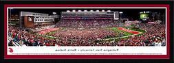 Washington State Cougars Football - Single Mat, Select Frame