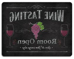 Wine Tasting Room Open Tempered Glass Large 15 Inch Kitchen